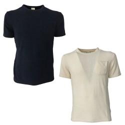 MOLO ELEVEN men's half sleeve shirt with slim pocket mod ABBEY 65% cotton 35% nylon