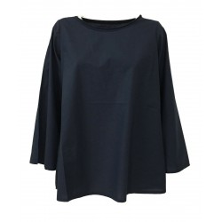 LABO.ART woman long sleeve blue shirt mod BOF SUSHI MADE IN ITALY