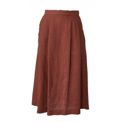 LA FEE MARABOUTEE woman skirt bois de rose mod FC3357 MADE IN ITALY