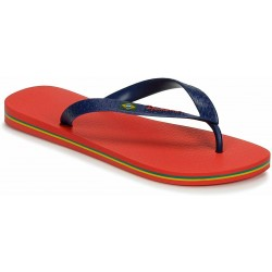 IPANEMA Men's flip flops Classic Brasil II AD 80415 MADE IN BRAZIL Red/Blue