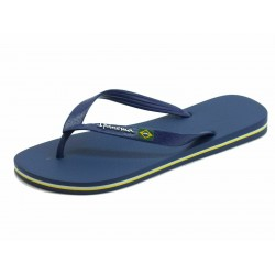 IPANEMA Men's flip flops Classic Brasil II AD 80415 MADE IN BRAZIL Blue