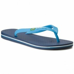 IPANEMA Men's flip flops Classic Brasil II AD 80415 MADE IN BRAZIL Blue/light Blue