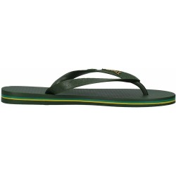 IPANEMA Men's flip flops Classic Brasil II AD 80415 MADE IN BRAZIL Green/Green