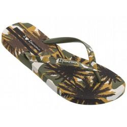 IPANEMA Flip flops I love Sun Fem 26427 Green / Brown 25029 MADE IN BRAZIL