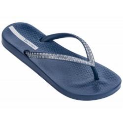 IPANEMA Flip flops Mesh IV Fem 21233 Blue / Silver MADE IN BRAZIL