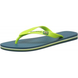 IPANEMA Men's flip flops Classic Brasil II AD 80415 MADE IN BRAZIL Blue / Green