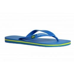 IPANEMA Men's flip flops Classic Brasil II AD 80415 MADE IN BRAZIL 20729 Blue/Blue