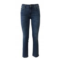 ATELIER CIGALAS jeans donna denim chiaro leggero mod 17-117H 8Y TDSSB09 STRAIGHT