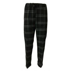 LIVIANA CONTI pantalone donna quadri nero/bianco F0WM33 MADE IN ITALY