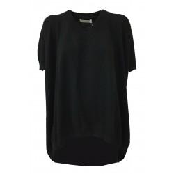 LIVIANA CONTI woman over black sleeveless shirt F0WB01 MADE IN ITALY