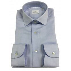 BRANCACCIO light blue long sleeve man shirt mod SG00B0 SLIM GIO PT KS66203