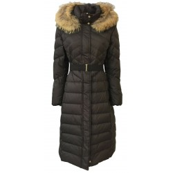 PENNYBLACK long brown woman down jacket mod FORMICA