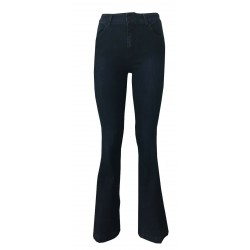 7.24 jeans donna scuro a zampa mod EVELIN MADE IN ITALY