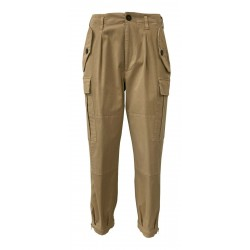 SEMICOUTURE beige woman trousers art W0 / Y / Y0WO01 MADE IN ITALY