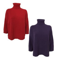 BORGO DELL'ORTICA women's wool sweater over mod C3112CH MADE IN ITALY