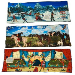 FUMAGALLI 1891 scarf HISTORICAL COLLECTION LIMITED EDITION 70X200 cm MADE IN ITALY