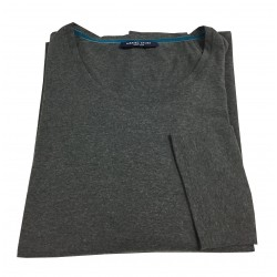 MARINA SPORT by Marina Rinaldi gray 3/4 sleeve cotton t-shirt art AINGEAL 90% cotton 10% elastane