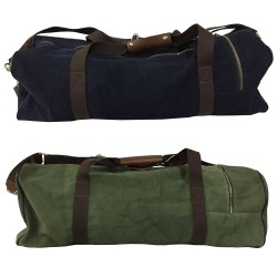 D'AMICO BAG weekend unisex canvass 100% solid