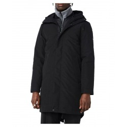 ELVINE winter jacket Black parka with Thermore padded hood mod. ERIX