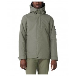 ELVINE Waterproof winter jacket with hood Castor Green mod. BARNARD