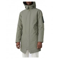 ELVINE winter Castor Green parka with hood, padded in Thermore mod. GUNTER