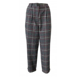 HUMILITY 1949 cotton trousers with high waist pleats art HB2059 MADE IN ITALY