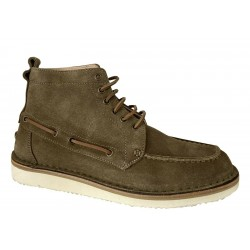 ASTORFLEX Men's Shoes in military suede Bomaflex 865 MADE IN ITALY