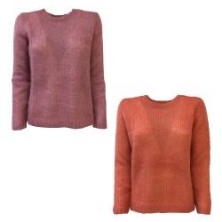 DES PETITS HAUTS woman long sleeve crew neck sweater art COSMIC