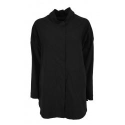 TADASHI woman jacket over black technical fabric art TAI216067 MADE IN ITALY