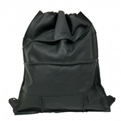 BRADGIGGS black woman backpack 100% leather MADE IN ITALY