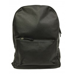 D'AMICO men's black leather backpack mod AVU0236 100% leather MADE IN ITALY