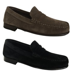 UPPER CLASS unlined man moccasin inverted calfskin art moccasin 2154 / INS CASTORO MADE IN ITALY