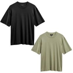 ELVINE t-shirt uomo mezza manica girocollo art NOLEN 100% cotone MADE IN PORTUGAL