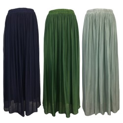 HUMILITY 1949 long woman skirt art HA-JU-JUSTINE 70% viscose 30% silk MADE IN ITALY