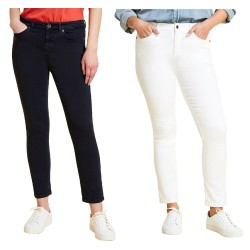 MARINA SPORT by Marina Rinaldi jeans woman super stretch cotton art 11.5131101 RAGIONE