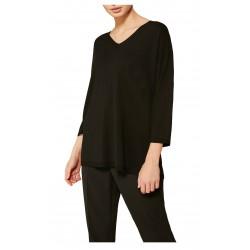 PERSONA by Marina Rinaldi black woman shirt art 11.1381451 AIDA MADE IN ITALY