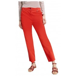 PENNYBLACK red woman trousers side pockets medium waist with zip art 31310721 GIRAFFA