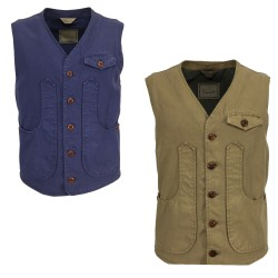 CAPALBIO gilet man art V504 T35 100% cotton MADE IN ITALY