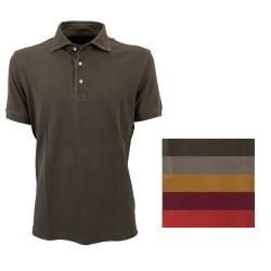 DELLA CIANA men's half-sleeved piquet polo shirt 41 / 201A 100% cotton MADE IN ITALY - 2