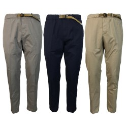 WHITE SAND men's trousers art SU66 17 GREG MADE IN ITALY