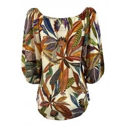 ALDO MARTINS maglia donna jersey fantasia art 5623 MAYA MADE IN SPAIN