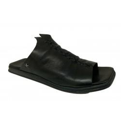 GORDON 1956 sandal woman black art ROMY 100% leather MADE IN ITALY