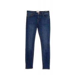 LAB DIP jeans donna denim lavaggio IN33 vita regolare con zip slim art ELLA