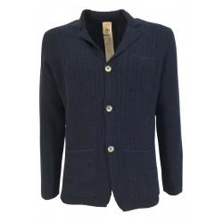 H953 man jacket color denim cotton HS3165 ANTONIO MADE IN ITALY