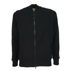 H953 black man jacket mod baseball art HS3324 textured fabric MADE IN ITALY