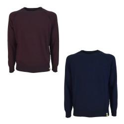 H953 man reversible sweatshirt cut art HS3215 100% cotton MADE IN ITALY