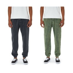 KATIN men's trousers brushed sweatshirt vintage wash 63 art PALOU10 80% cotton 20% polyester