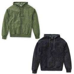 KATIN men's sweatshirt brushed vintage wash art FLHOO10 80% cotton 20% polyester