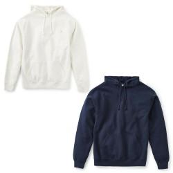 KATIN men's brushed sweatshirt with hood, front pockets art FLHOO10 80% cotton 20% polyester