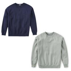 KATIN man round neck brushed sweatshirt art FLCRE10 80% cotton 20% polyester